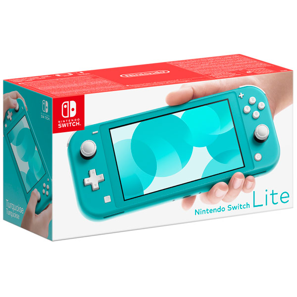 Nintendo Switch Lite бирюзовый