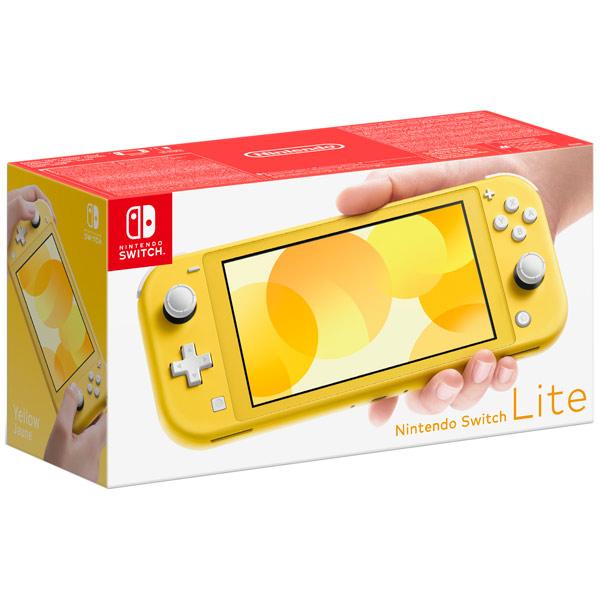 Nintendo Switch Lite желтый