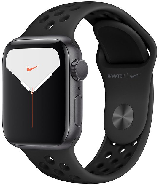 Apple Watch Nike Series 5, 44 мм серый космос