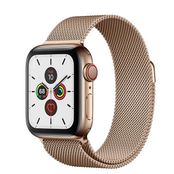 Часы Apple Watch Series 5 GPS + Cellular 44mm Gold