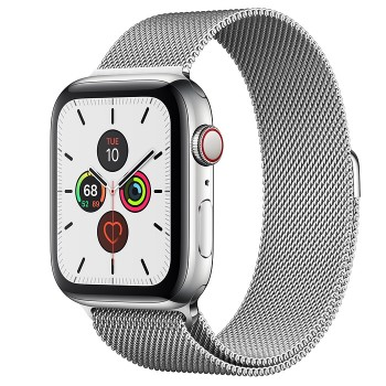 Часы Apple Watch Series 5 GPS + Cellular 44mm Silver
