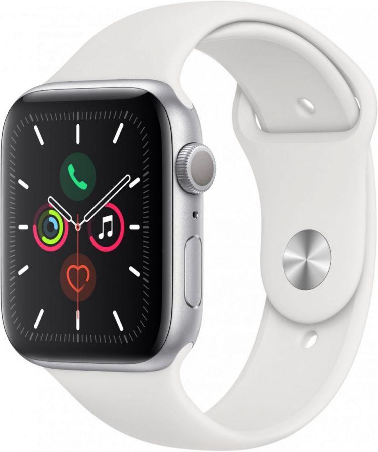 Apple Watch Series 5 44 мм спорт белый