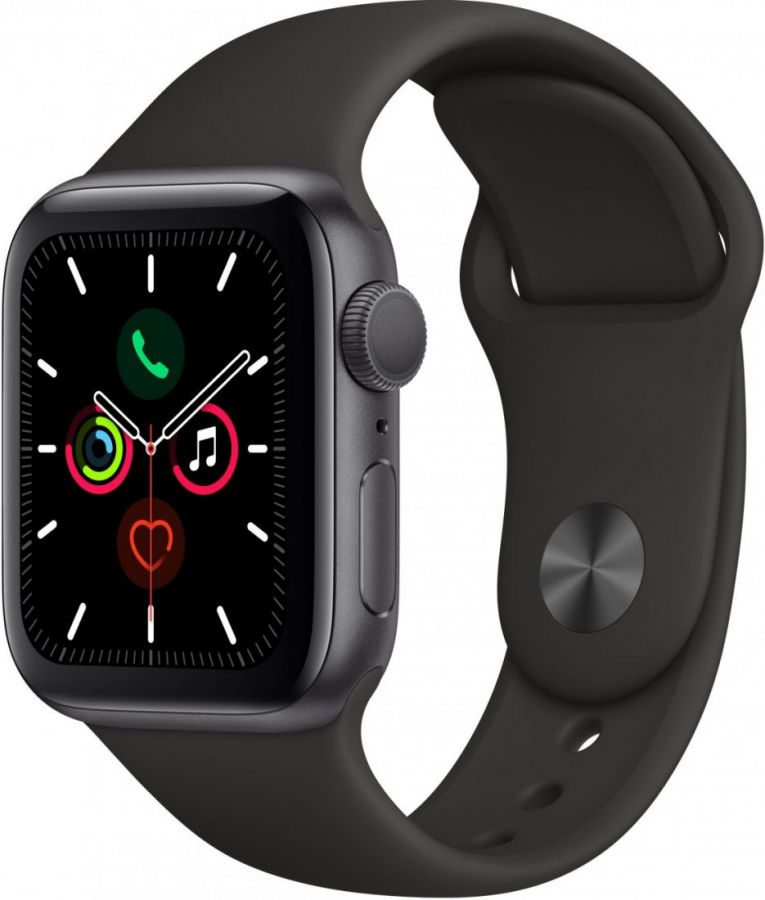 Apple Watch Series 5, 44 мм серый космос