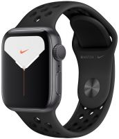 Apple Watch Nike Series 5, 40 мм серый космос