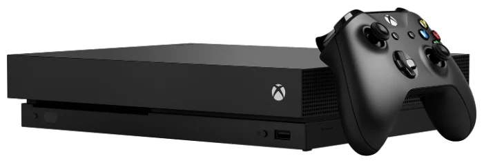 Microsoft Xbox One X чёрный