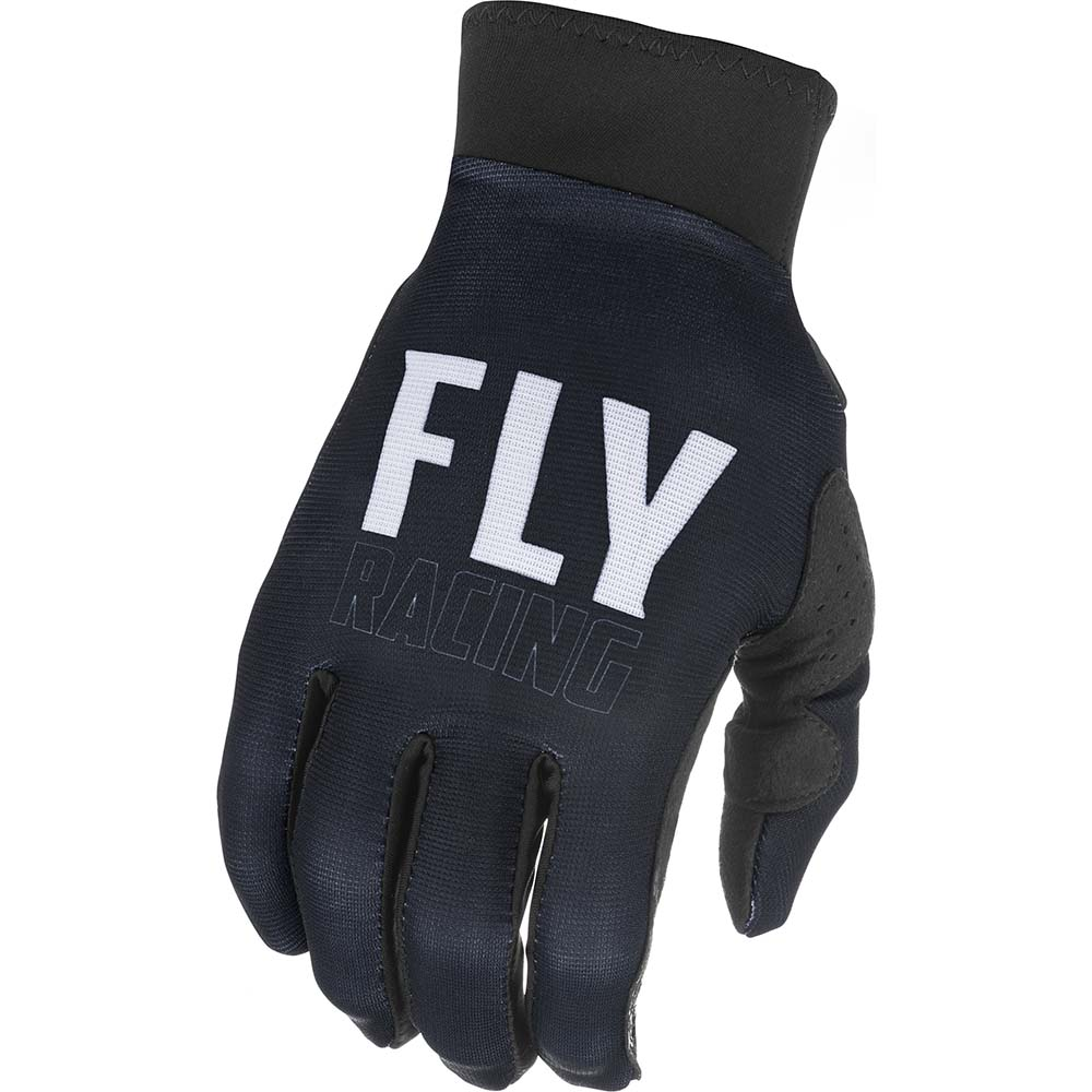 Fly Racing 2021 Pro Lite Black/White перчатки