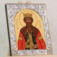 Икона Вячеслав Чешский (14х18см)