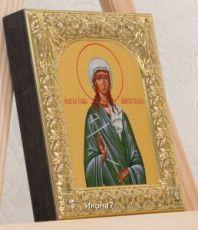 Икона Юлия (Иулия) Анкирская (9х10,5см)