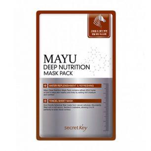 """SECRET KEY"" MAYU Deep Nutrition Mask Pack Маска для лица питательная 20 гр"