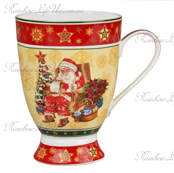 "Кружка Санта Christmas Collection 300 мл ""Lefard"""