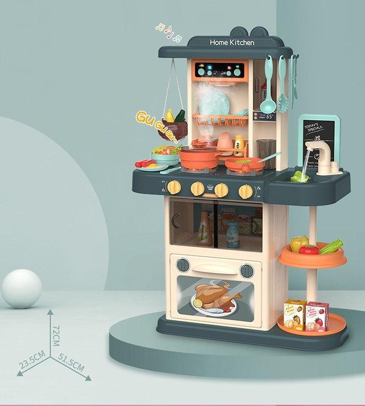 Детская кухня с водой, холодным паром, озвученная Modern Kitchen 889-179