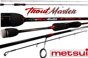 Спиннинг Metsui Trout Master 662L 198 см / тест 1-8 гр