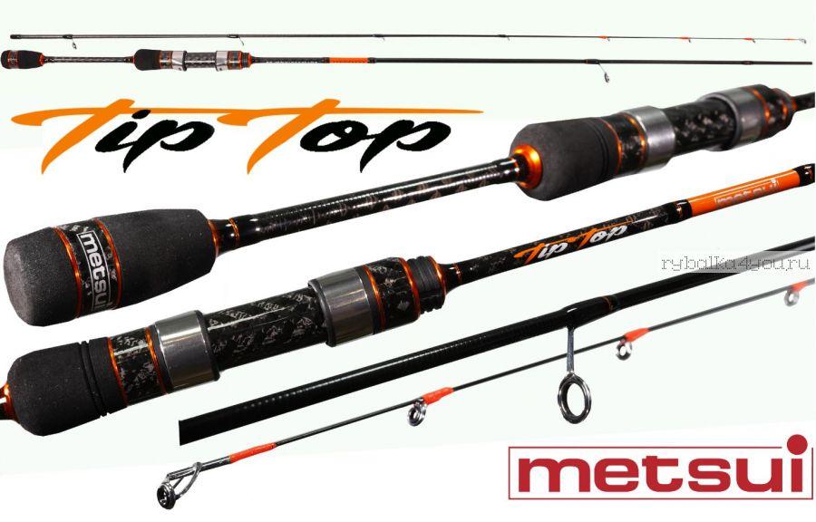 Спиннинг Metsui Tip Top 602XULS 183 см / тест 0,4-2,5 гр