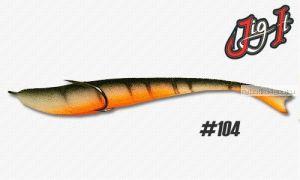 Поролоновая рыбка Jig It 11 см / цвет:  104