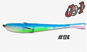 Поролоновая рыбка Jig It 14 см / цвет:  124