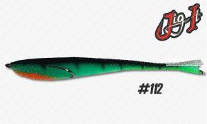 Поролоновая рыбка Jig It 14 см / цвет:  112