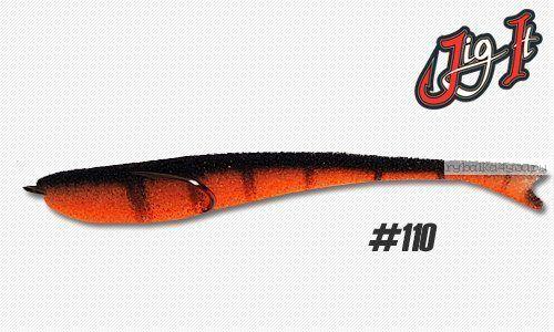 Поролоновая рыбка Jig It 14 см / цвет:  110