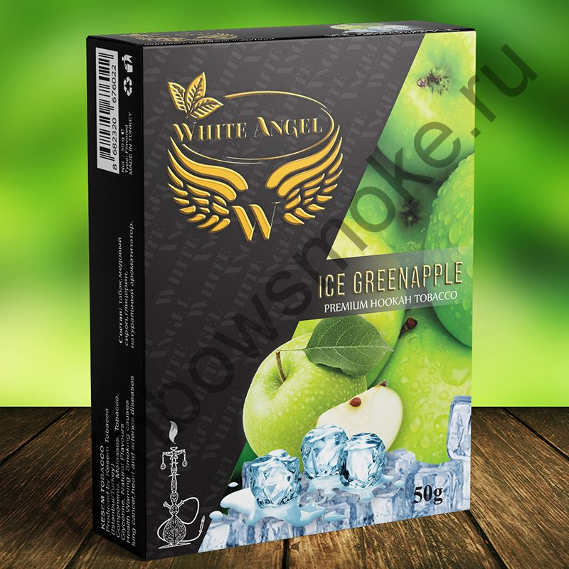 White Angel 50 гр - Ice Greenapple (Ледяное Зеленое Яблоко)