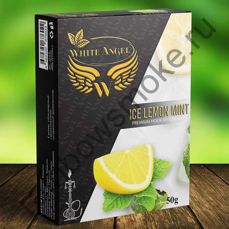 White Angel 50 гр - Ice Lemon Mint (Лед Лимон Мята)