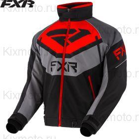 Куртка FXR Fuel, Черно-серо-красная