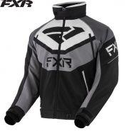 Куртка FXR Fuel, Черно-светло-серая