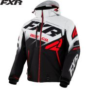 Куртка FXR Boost FX, Черно-серо-красная