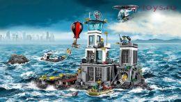 Конструктор LION KING Cities Остров-тюрьма 180026 (Аналог LEGO City 60130) 815 дет