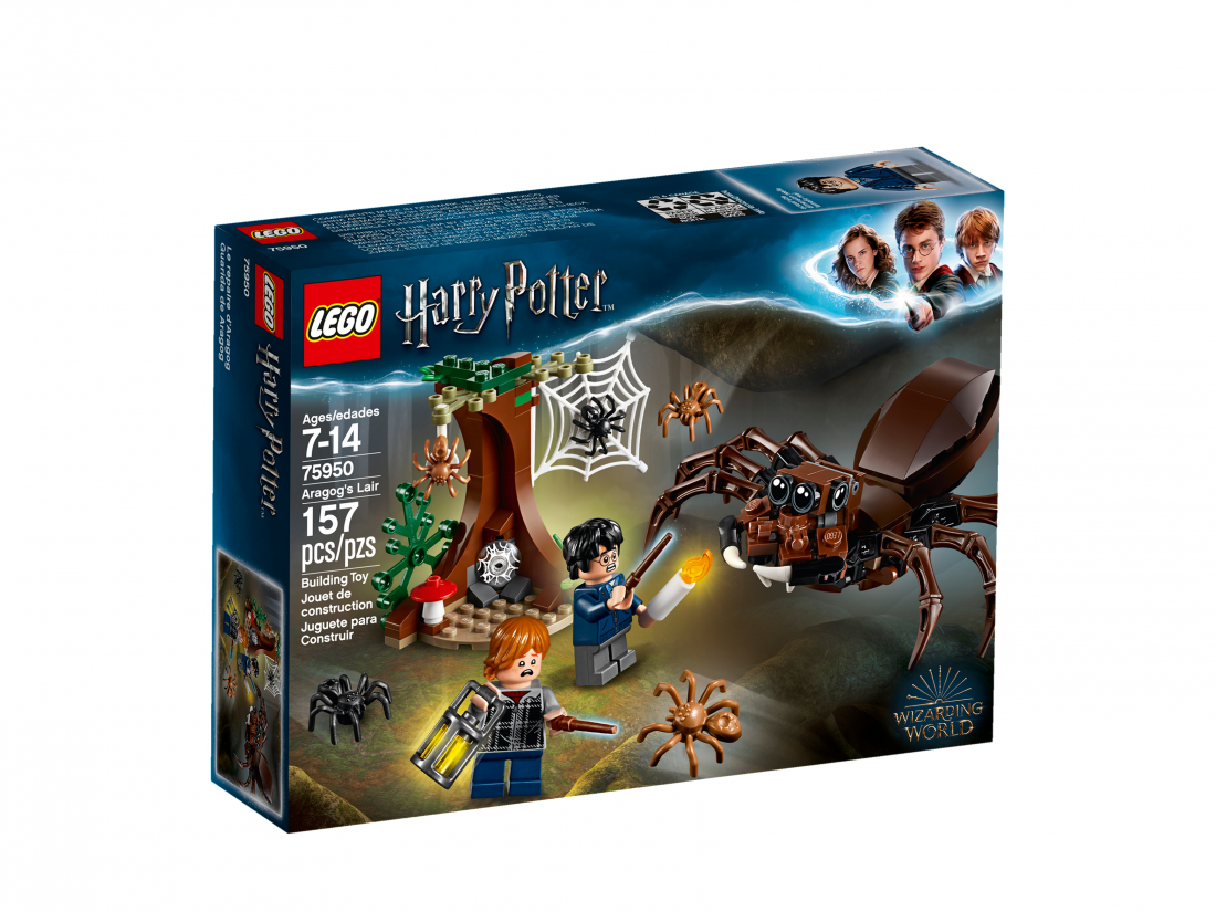 Логово Арагога. LEGO Гарри Поттер 75950
