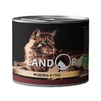 Ландор для котят индейка с уткой 200г
