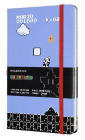 Книжка зап.Moleskine Large SUPER MARIO линейка сиреневый Full Game LESMQP060GM