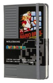Книжка зап.Moleskine Pocket Super Mario линейка серый Nes Cartridge LESMMM710NC