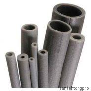 Трубка вспененный полиэтилен НПЭ Т 110/9 L=2м серый Порилекс