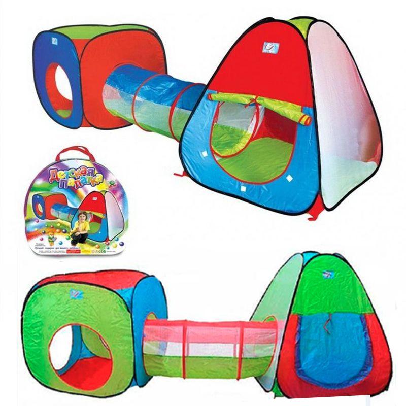 Палатка игровая Комплекс 2 палатки с туннелем a999-148