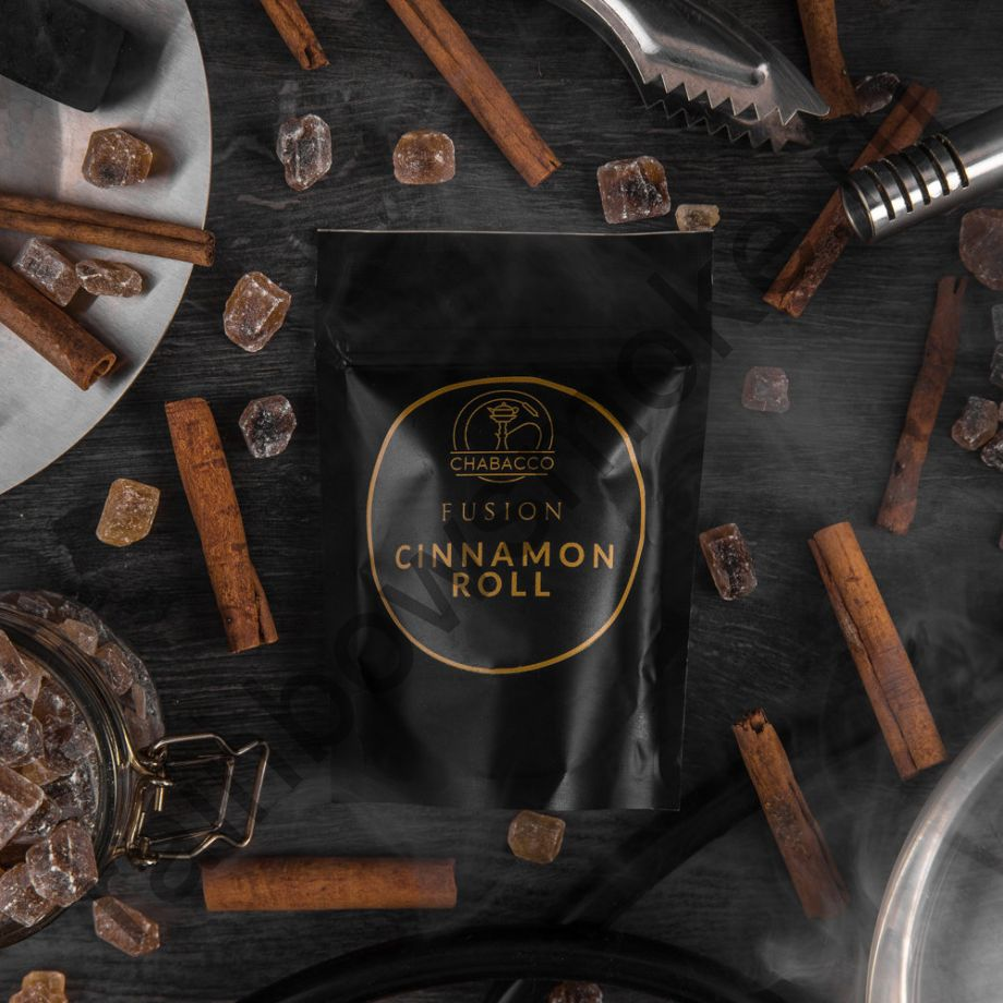 Chabacco Medium 50 гр - Cinnamon Roll (Булочка с корицей)