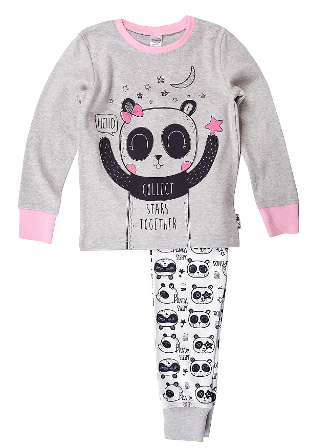Пижама для девочки от Crockid