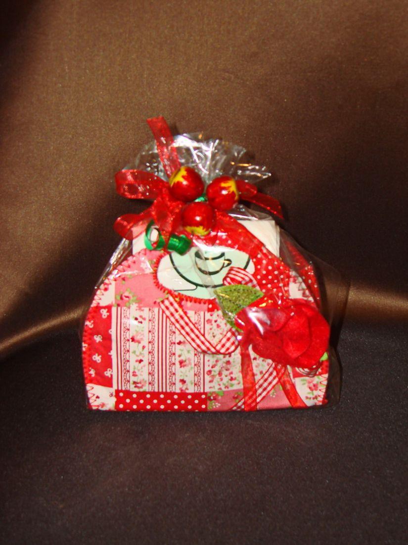 Яблочная сказка - подарочный набор с чаем.