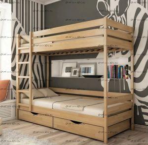 Кровать двухъярусная Ника №ДИ, любые размеры