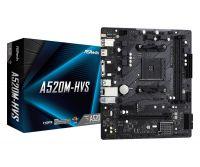 Материнская плата ASRock A520M-HVS Socket AM4