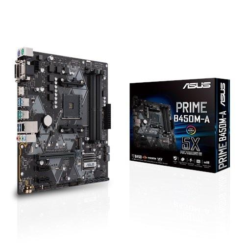 Материнская плата Asus Prime B450M-A Socket AM4