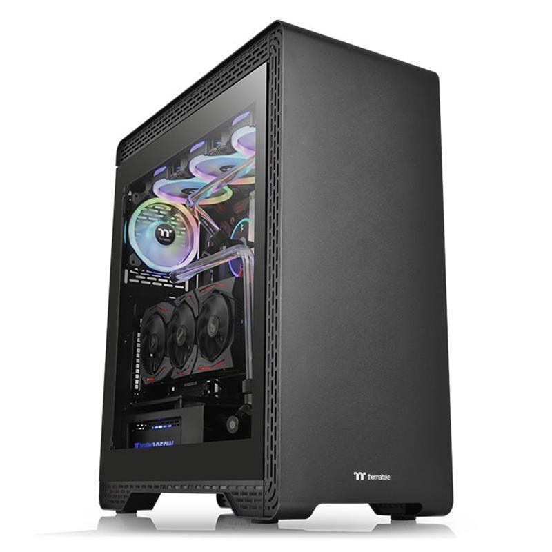 Корпус Thermaltake S500 Tempered Glass Black (CA-1O3-00M1WN-00) без БП