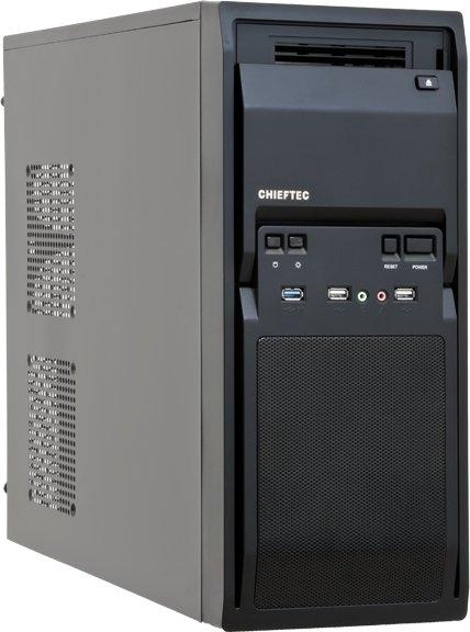 Корпус Chieftec Libra LG-01B-OP, Без БП, 1xUSB3.0, Black