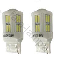 Автомобильные светодиодные лампочки без цоколя T20-28-7020