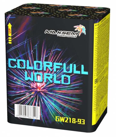 "Батарея салютов "" COLORFULL WORLD "" 12 залпов"