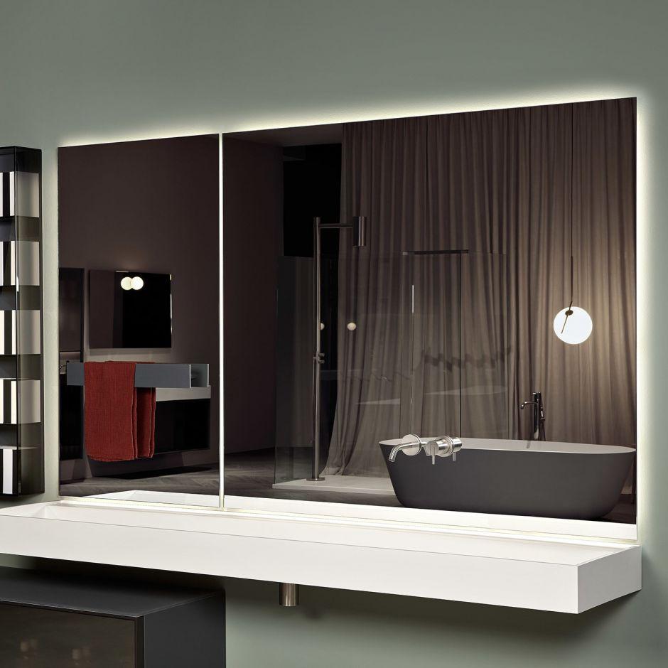 Зеркало Antonio Lupi с подсветкой Neutrokit Ntkit125W