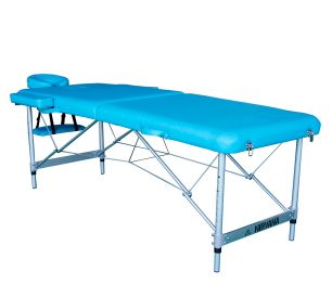 Массажный стол DFC Nirvana Elegant Luxe голубой (Lt.Blue)