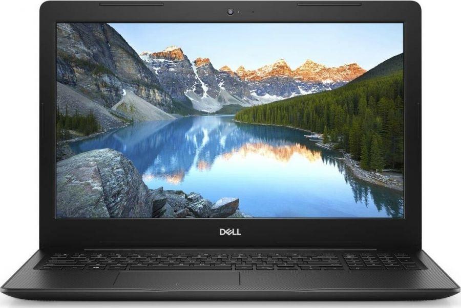 "Ноутбук Dell Inspiron 3593 (I3554S2NDW-75B); 15.6"" FullHD (1920x1080) TN LED матовый / Intel Core i5-1035G1 (1.0 - 3.6 ГГц) / RAM 4 ГБ / SSD 256 ГБ / nVidia GeForce MX230, 2 ГБ / нет ОП / LAN / Wi-Fi / BT / веб-камера / Windows 10 Home / 2.2 кг / чер"