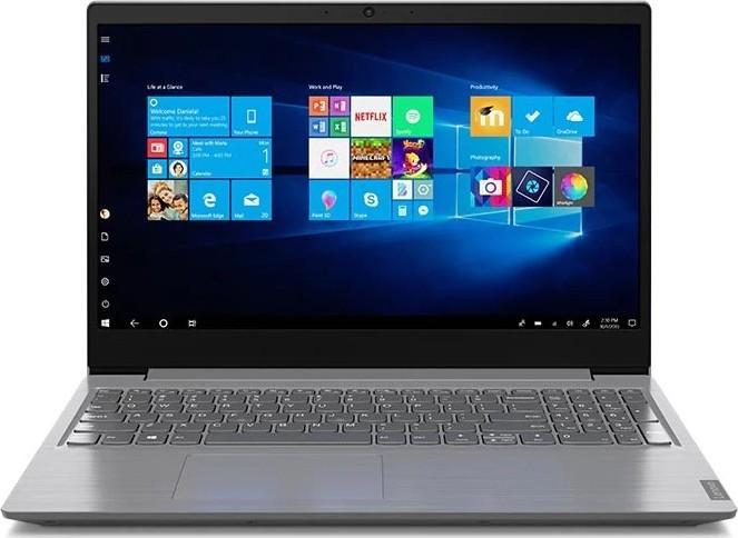 "Ноутбук Lenovo V15 (81YD000URA); 15.6"" FullHD (1920x1080) TN LED матовый / Intel Core i3-8130U (2.2 - 3.4 ГГц) / RAM 8 ГБ / SSD 256 ГБ / Intel UHD Graphics 620 / нет ОП / Wi-Fi / BT / веб-камера / Windows 10 Professional / 1.85 кг / серый"