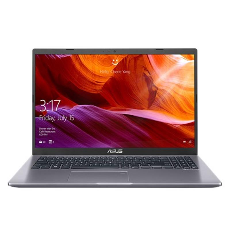 "Ноутбук Asus X509JA-BQ173 (90NB0QE2-M15610); 15.6"" FullHD (1920x1080) IPS LED матовый / Intel Core i3-1005G1 (1.2 - 3.4 ГГц) / RAM 8 ГБ / SSD 512 ГБ / Intel UHD Graphics G1 / без ОП / Wi-Fi / BT / веб-камера / без ОС / 1.9 кг / серый"