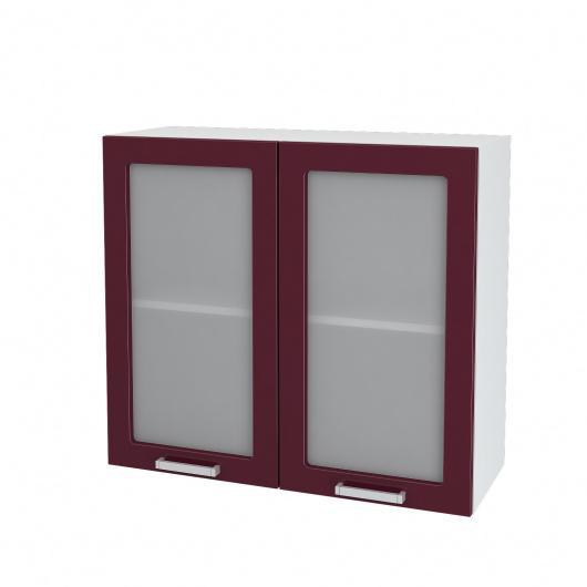 Шкаф верхний 2-х дверный Глория ШВС 800