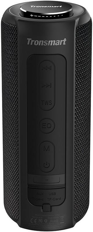Акустическая система Tronsmart Element T6 Plus Upgreded Edition Black (367785)